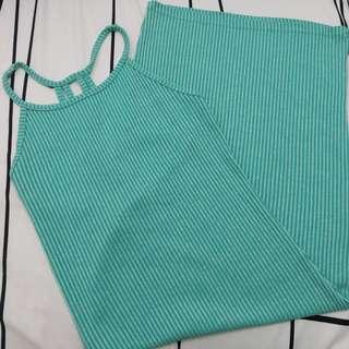 Cotton On Midi Dress (Teal)