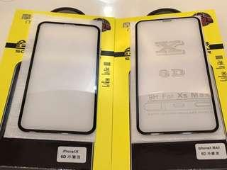 iphone Xs,Xs max,Xr  3D curve edge glass protector