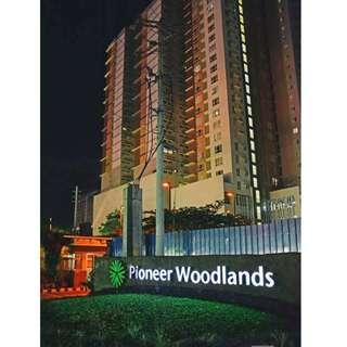Rush Christmas Discount Promo  17k/month  1BR Condo Unit Rent to Own Pioneer Woodlands