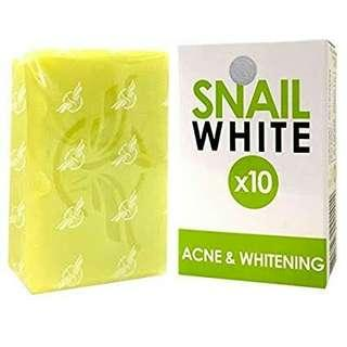 Snail White Thailand Soap with glutathione