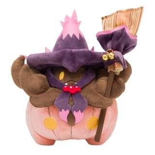 Pokemon Team Trick Halloween Pumpkaboo Poké Plush