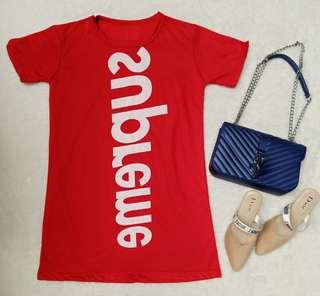 red supreme dress lokal
