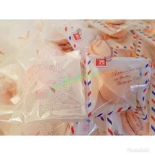 Macarons min 50pcs Individual Packing
