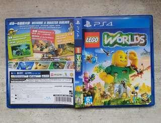 Selling Cheap! Playstation PS4 games. LEGO WORLD