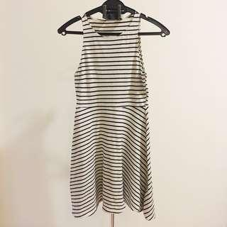 Forever 21 Sleeveless Stripe Dress