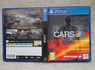 Selling Cheap! Playstation PS4 Games. Project Cars.