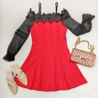 sabrina nets premium dress