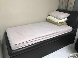 Selling Cheap!  used a spare bed. Good condition.