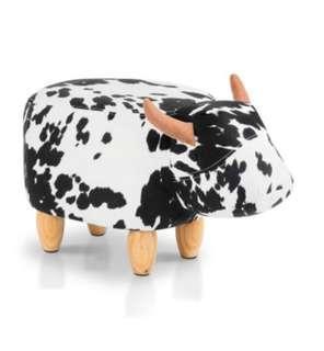 Cow Kids Stool
