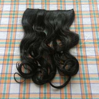 NEW! Long Curly Hair Clip (28cm)