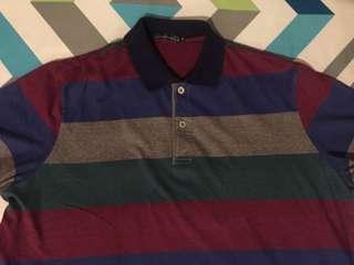 4 Polo Shirts Size XL plus free Nike Shirt