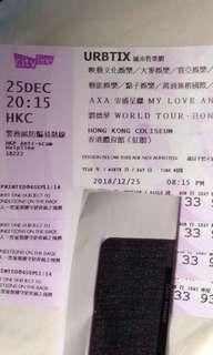 劉德華演唱會門票 $580 @12/25