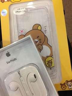 🚚 iphone6拉拉熊.懶懶熊.鬆弛熊手機殼,2018購入