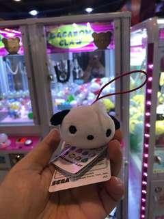 日本景品Sanrio Pc狗馬騮仔monkichi企鵝hello kitty melody布甸狗吊掛細公仔