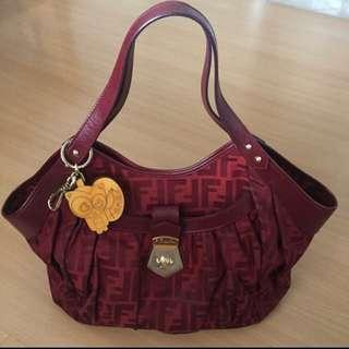 Authentic Fendi medium size shoulder bag For sale!