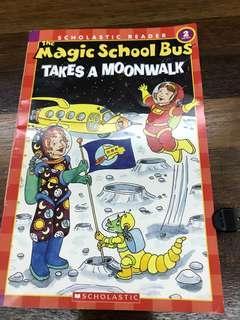 Magic School bus - takes a moonwalk