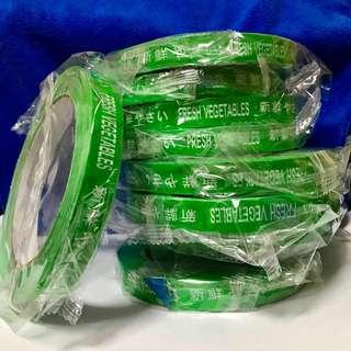 Fresh Vegetables Tapes (Per roll)