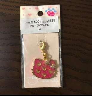 🈹購自日本 全新 Kitty 掛飾 鎖匙扣