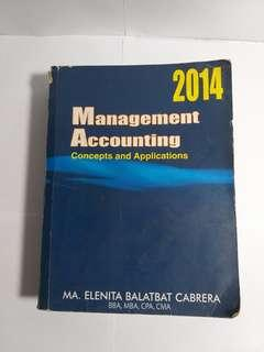 MANAGEMENT ACCOUNTING ( concepts and applications )