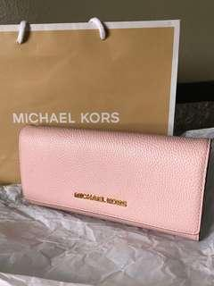 MICHAEL KORS 長款銀包 粉紅色