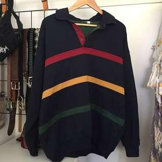 Retro old school jumper