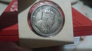 1907 Edward VII Straits Settlements half dollar 50 cents