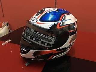 Arai Rx7 rr5 inspired Full Face Helmet pedro