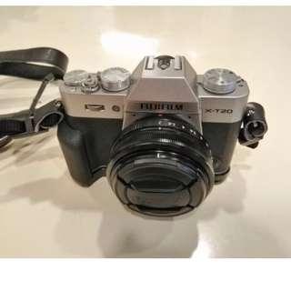 Fuji Fujifilm X-T20 body (silver)