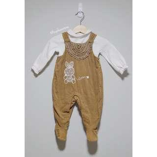 Baby Pinafore Jumpsuit