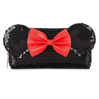 [PO] Disney Minnie Mouse Wallet by Loungefly - Black Sequined