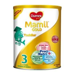 Dumex Mamil Gold Stage 3 1.6kg