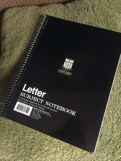 Oxford Note book