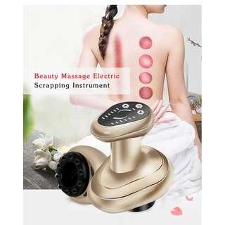 MAGNETIC WAVE HEAT ENERGY BEAUTY MASSAGE ELECTRIC SCRAPPING INSTRUMENT