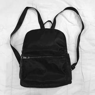 Black Small Backpack