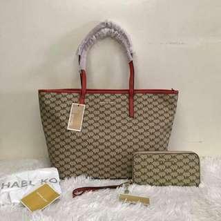 MK Set Bag n Wallet