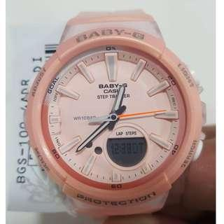 Authentic | Casio Baby-G | BGS-100