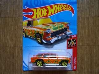 Hotwheels Classic '55 Nomad (orange)