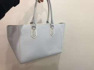Samantha Vega baby blue handbag