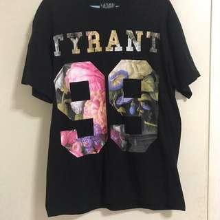 L.A.T.H.C Black Floral Shirt