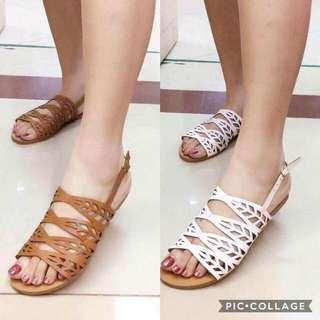Hardsole sandals
