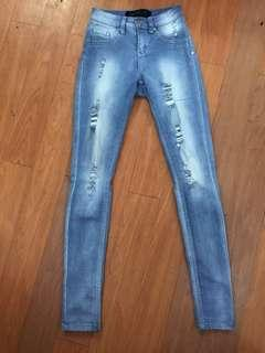 Factorie ripped jeans / jeggings