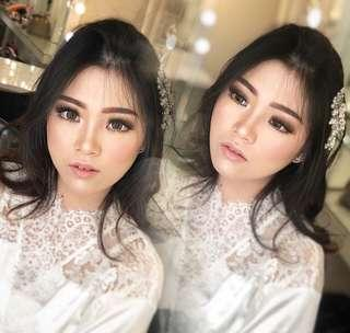 Makeup wisuda,brides,mom of bride,bridesmaid,tingjing,photoshoot,hijab makeup, wedding, etc