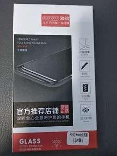 鋼化玻璃屏幕保護貼 手提電話 手機 mon 紅米 note5 3片裝 塊