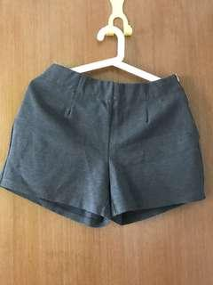 🛍Lalu Greyish black Shorts with elastic Band