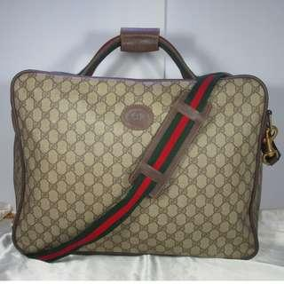 AUTHENTIC  GUCCI LUGGAGE SUITCASE