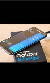 Samsung Galaxy S7 Edge phone