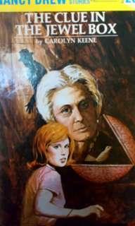 Nancy Drew Hard Bound books