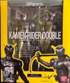 開封美品 SHF 幪面超人 Kamen Rider Double W Luna Joker & Luna Metal