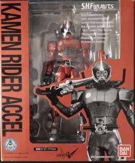開封美品 日版 幪面超人 SHF Kamen Rider W Double ACCEL 警騎