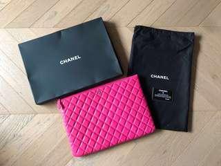 Chanel lambskin leather pink clutch bag 大羊皮手拎袋 SALE